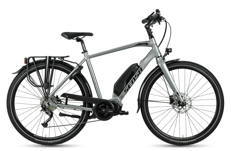Sensa Travel Power V9 Heren (Shiny Speedy Silver)