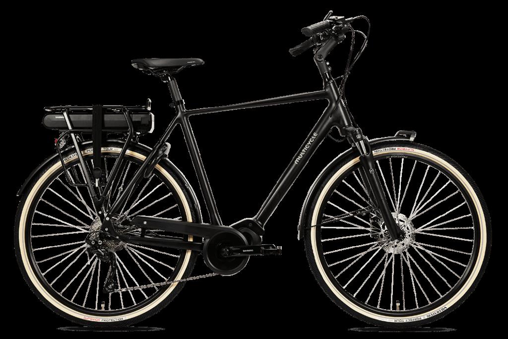 Multicycle Solo EMS Heren Zwart